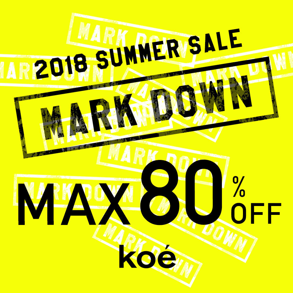 koe summer sale 2018